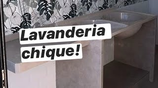 BALCÃO NA LAVANDERIA + BASE APRENDA FAZER!