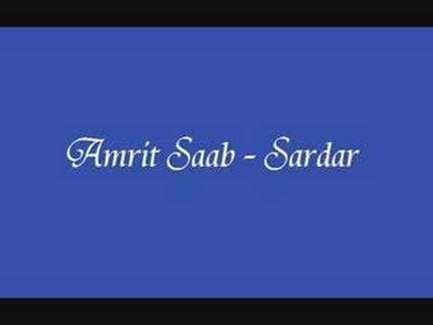 Amrit Saab - Sardar