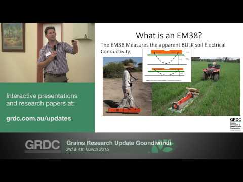 Grains Research Updates 2015 | Goondiwindi | Accurate dryland soil water measurement - B. Birch