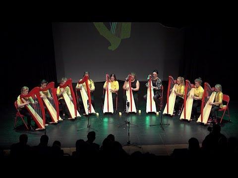 Rising of the Harps - Music Generation Laois Harp Ensemble