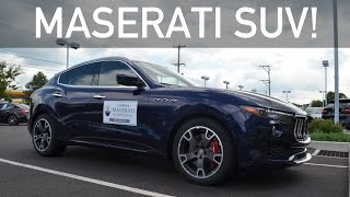 2017 Maserati Levante S Q4 In-Depth Review & Drive!!!