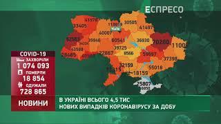 Коронавірус в Украі ні статистика за 3 січня
