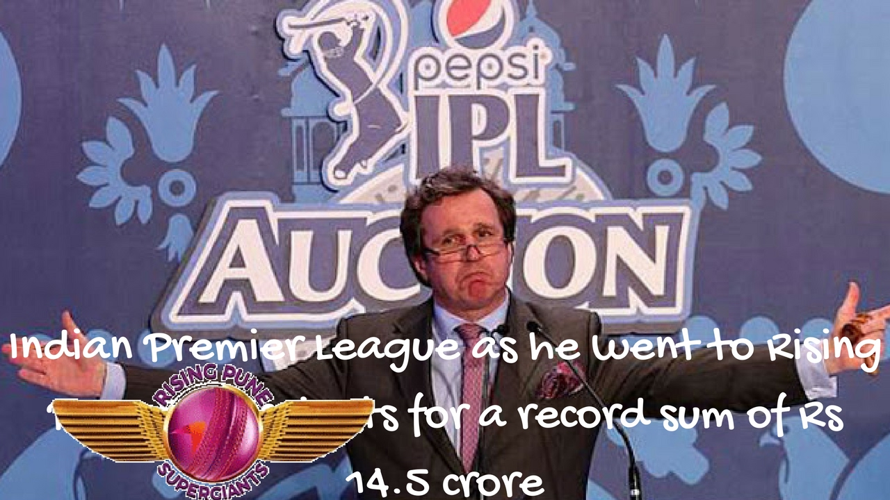Image result for Ben Stokes Goes to RPS For Record Rs 14.5 Crores | ipl10 2017