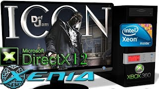 XENIA DX12 [Xbox 360] - Def Jam: Icon [Gameplay] DirectX 12 api #2