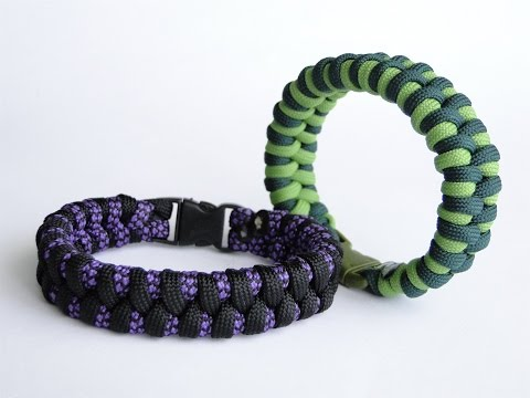 "how-to-make-a-simple-""two-strand-core""-zawbar-paracord-survival-bracelet"