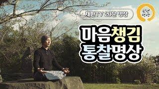 [20분] 마음챙김 통찰명상 (위빠사나&알아차림 명상포함)
