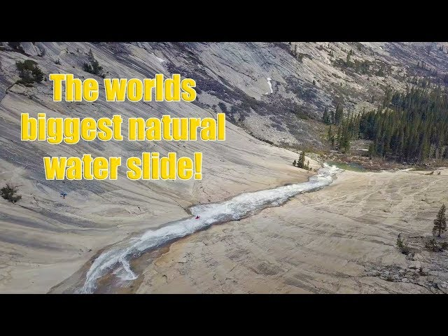 Dropping the worlds biggest natural water slide in kayaks!