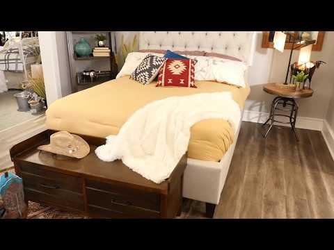 Bedroom Decor Ideas | Shabby Chic & Rustic Western Style