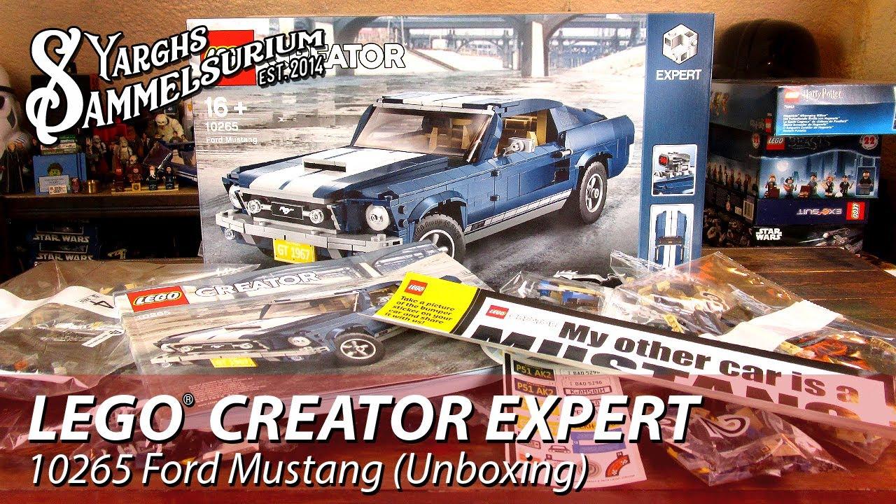 Unboxing lego creator 10265 ford mustang deutsch