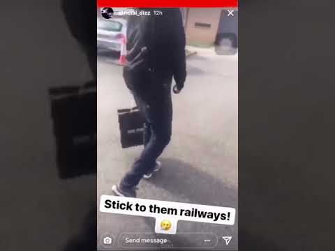 Young Dizz (Beckton) Replies To Myers sending for him on his behind bars(Forest Gate)