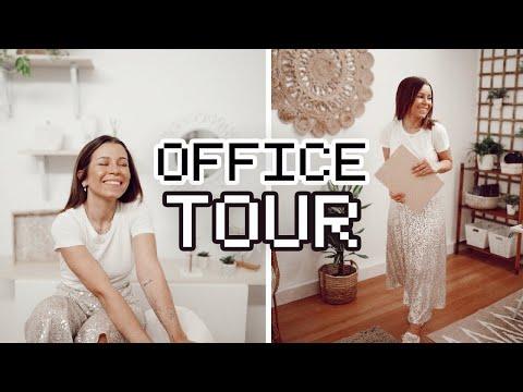 OFFICE VLOG + TOUR *boho vibes*  Inês Rochinha