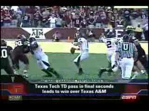 Tech beats A&M at the last minute (2006)