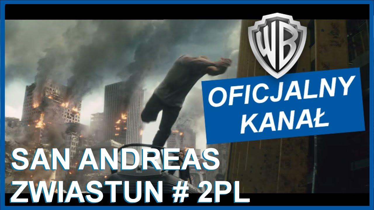 San Andreas- Zwiastun #2 PL