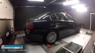 Reprogrammation Moteur BMW Serie 3 E90 320i 150hp (Réel 136hp) @ 161hp par BR-Performance