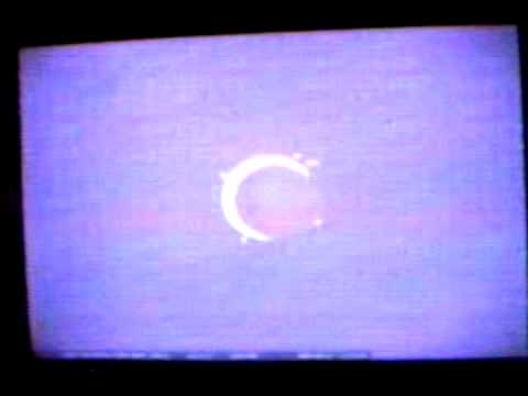 Annular Eclipse over Rochester, New York on May 10, 1994