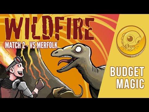 Budget Magic: Wildfire vs Merfolk (Match 2)