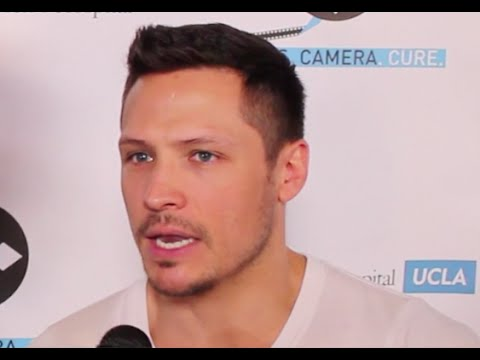 NICK WECHSLER of ABCs Revenge & more  on Cancer at LightsCameraCure.com Event in Hollywood