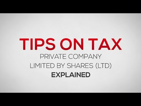 What is a Private Company Limited by Shares? (LTD)