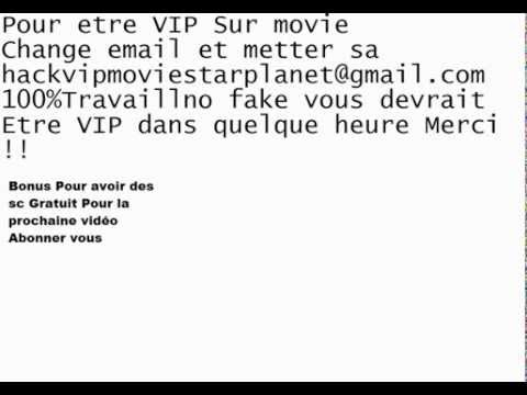 photo comment etre vip sur moviestarplanet