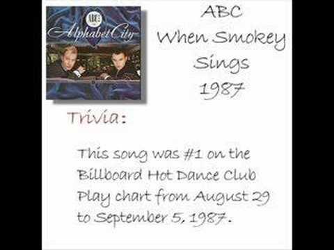 ABC - When Smokey Sings (w/ trivia)