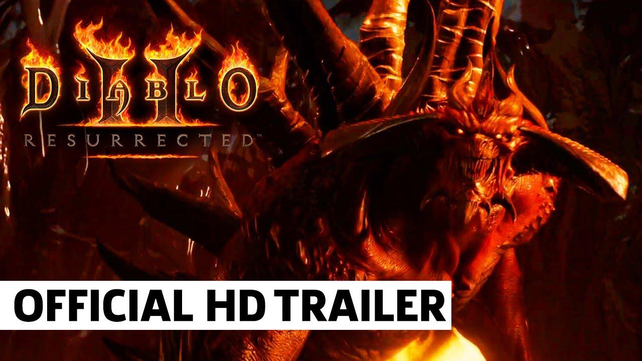 Diablo 2 Resurrection Cinematic Trailer – GameSpot