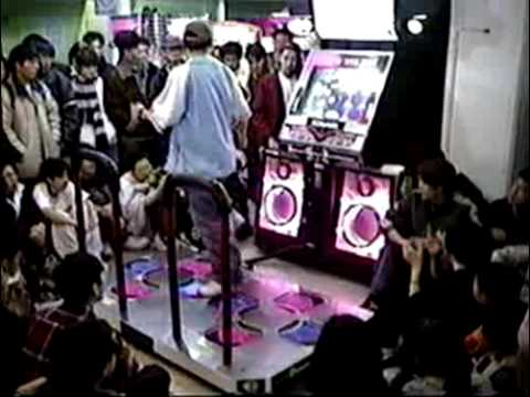 [Dance Dance Revolution 3rd Mix] ND Team - Put Your Faith in Me Performance