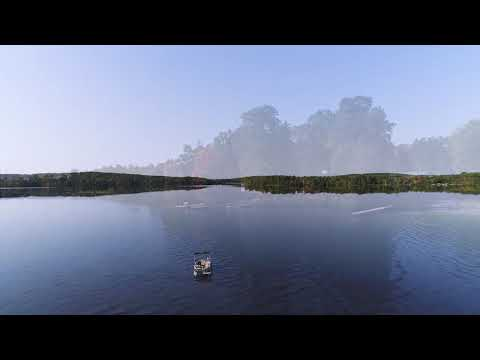 Drone Video Of Nelson Lake (Hayward, Wisconsin)