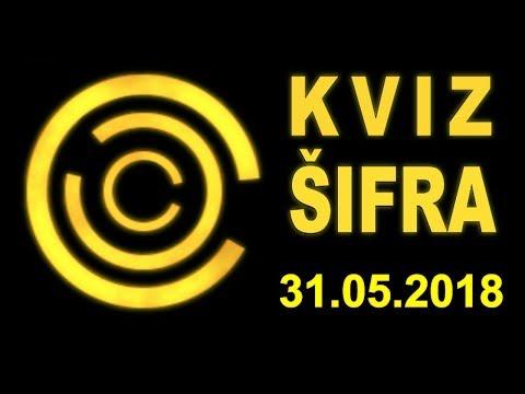 KVIZ ŠIFRA - Zadnja (31.5.2018)