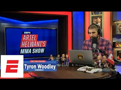 Tyron Woodley on Colby Covington fight: 'They about to pay me' | Ariel Helwani's MMA Show | ESPN