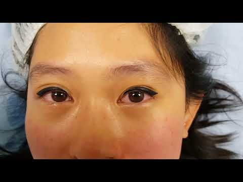Thick Cat Eyeliner with a Wing  Latino Permanent Makeup by El Truchan @ Perfect Definition