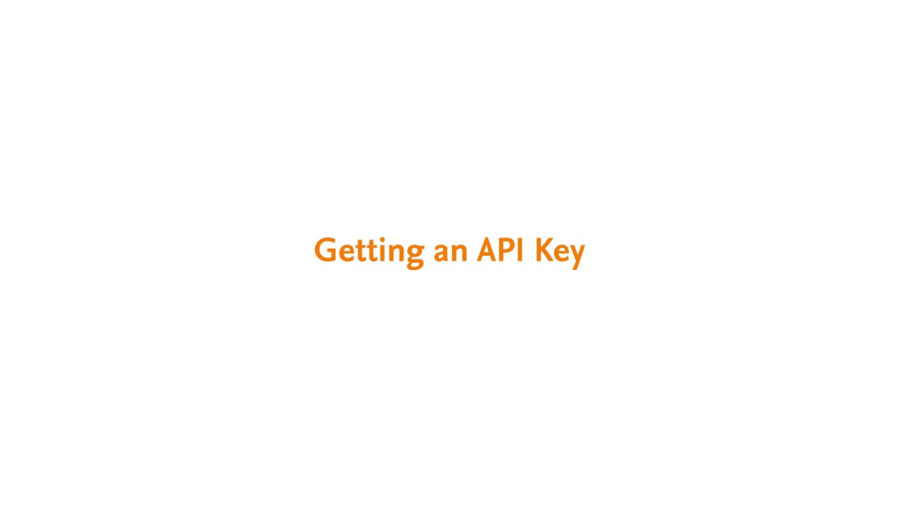 Elsevier API Key