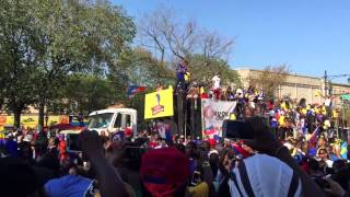 West Indian Day Parade 2015 Haitian Float