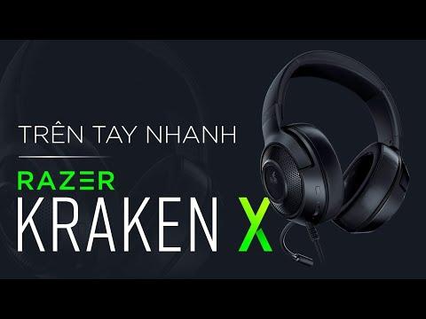 Mở hộp & trên tay nhanh tai nghe Razer   Razer Kraken X