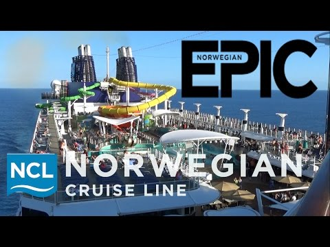 Norwegian Epic Tour & Review with The Legend