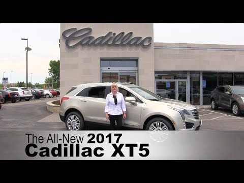 The All New 2017 Cadillac XT5 - Edina, Minneapolis, St Paul, Roseville, Minnetonka, MN