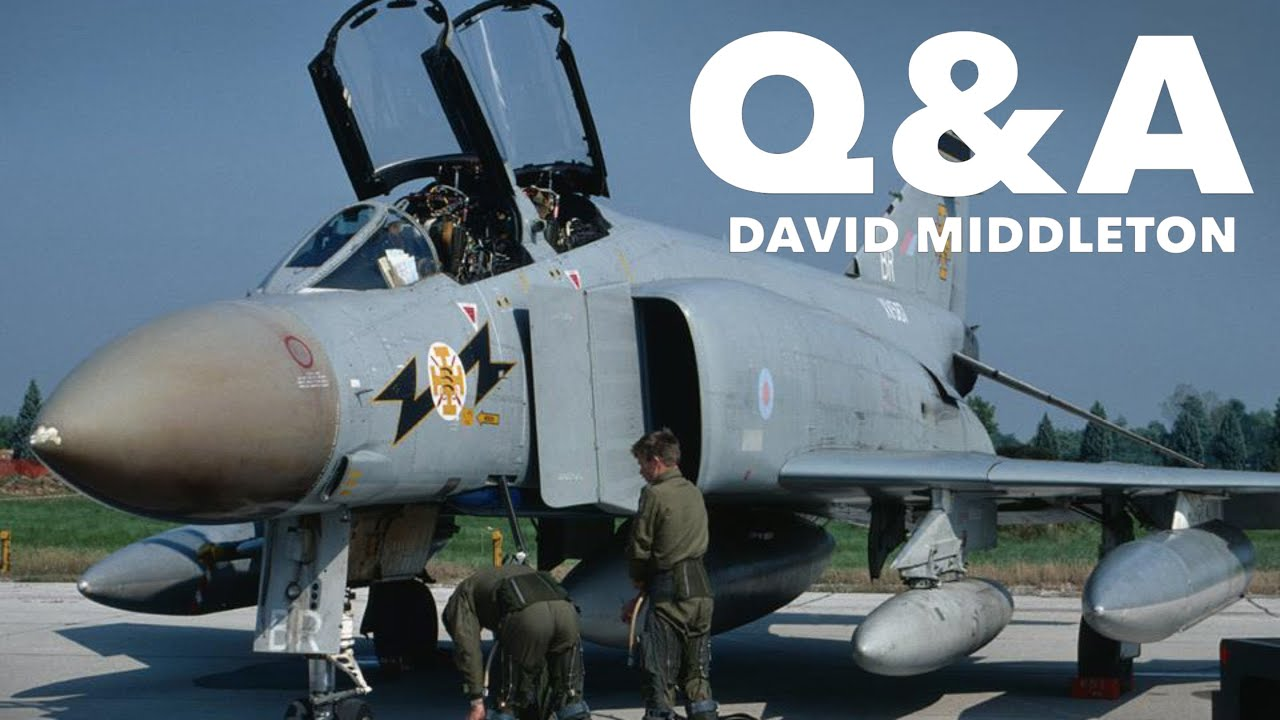 Q&A with Former F-4 and Tornado pilot, David Middleton