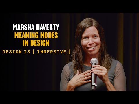 Design is [Immersive] – Meaning Modes in Design
