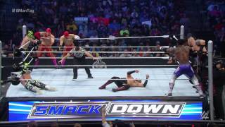 8-Man Tag Team Match: SmackDown – 30. Juli 2015