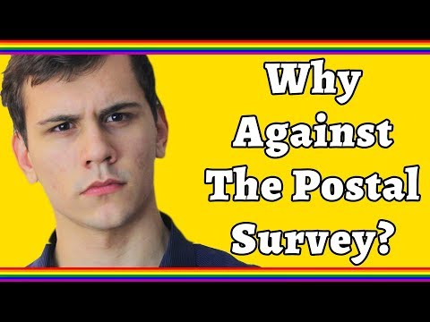 Why people oppose Australia's Same-Sex Marriage Postal Survey