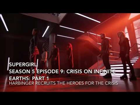 Download Supergirl: Season 5 Episode 9: Crisis on Infinite Earths: Harbinger Recruits The Heroes