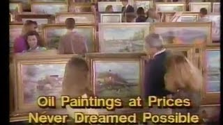 Mass produced oil paintings (Collectors Art)