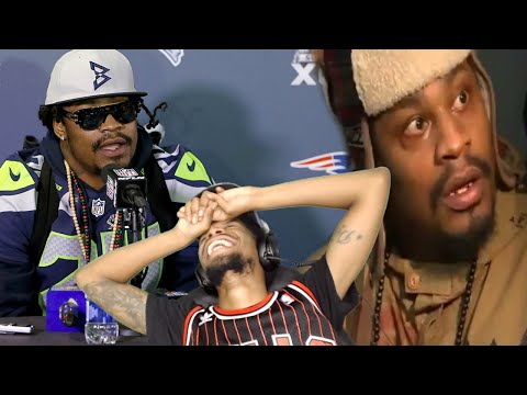 KEEPIN IT WAYYY TO REAL LOL! MARSHAWN LYNCH FUNNIEST INTERVIEW MOMENTS REACTION!