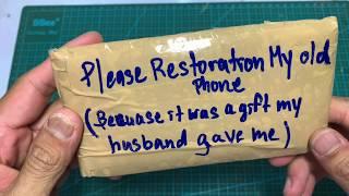 Destroyed Phone Restoration | Samsung galaxy Note 2 Old broken | Rebuild Broken Smartphone