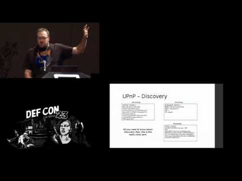 DEF CON 23 - Ricky Lawshae - Let's Talk About SOAP Baby, Let's Talk About UPNP