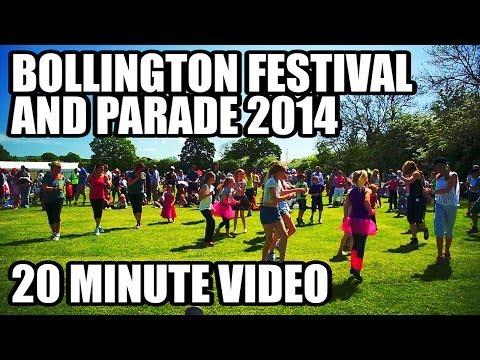 Bollington Festival and Parade 2014 - Views of Cheshire - 1080p HD
