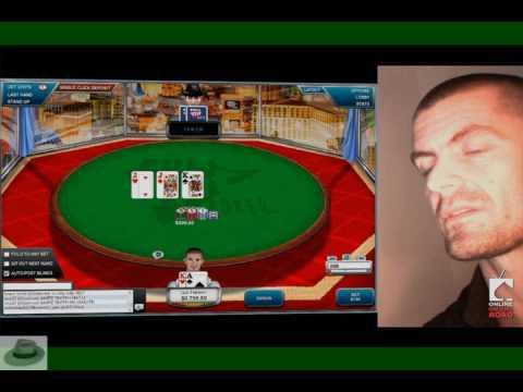 Gus Hansen & Andy Bloch, Friday Night Fights, Fulltilt Poker Part1