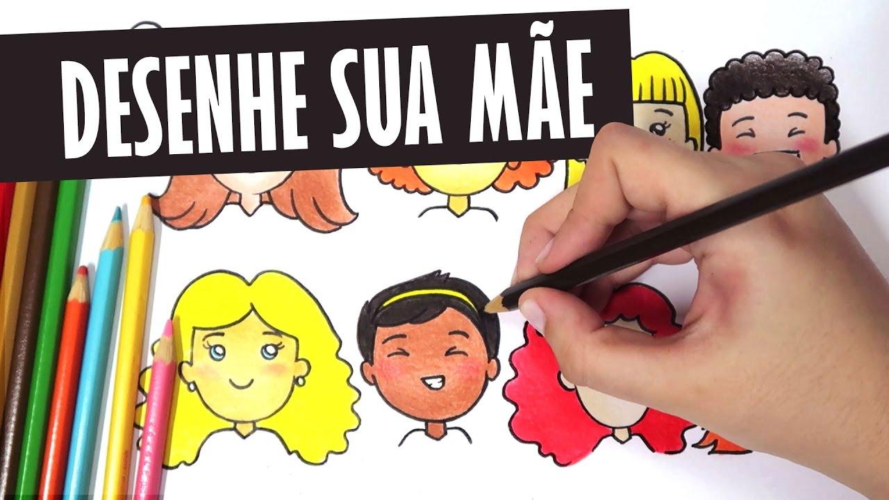 Como Desenhar Sua Mae Bonequinha Tumblr Passo A Passo Desenho