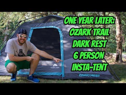 One Year Later: Ozark Trail Dark Rest 6 Person Insta-Tent.