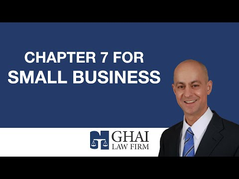 Chapter 7 for Small Business