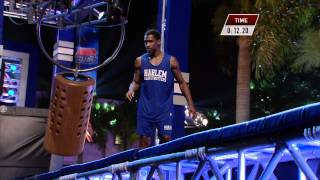 Harlem Globetrotter on American Ninja Warrior